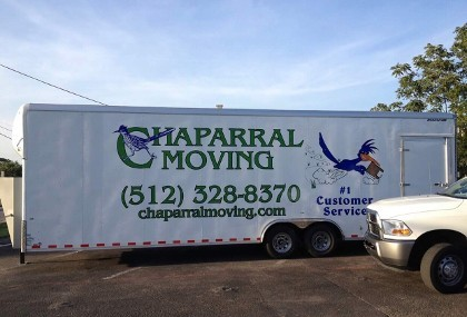 Chaparral Moving  - fully equipped moving trucks Austin, TX